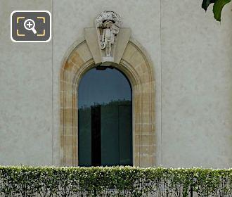 Arched Window Musee De l'Orangerie North Facade