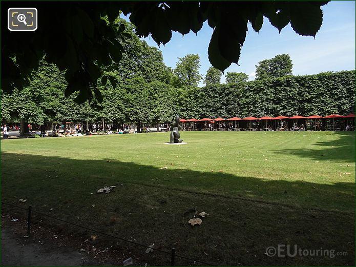 Salle Verte Sud-Ouest Inside Jardin Des Tuileries Looking East