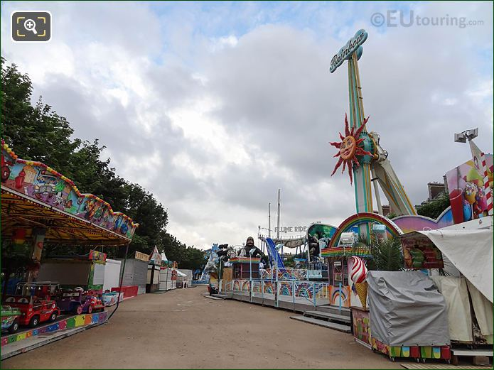 Fete Des Tuileries Fair Ground Esplanade Des Feuillants