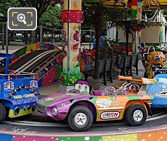 Childrens Cars, Trucks, Bikes Fair Ground Ride