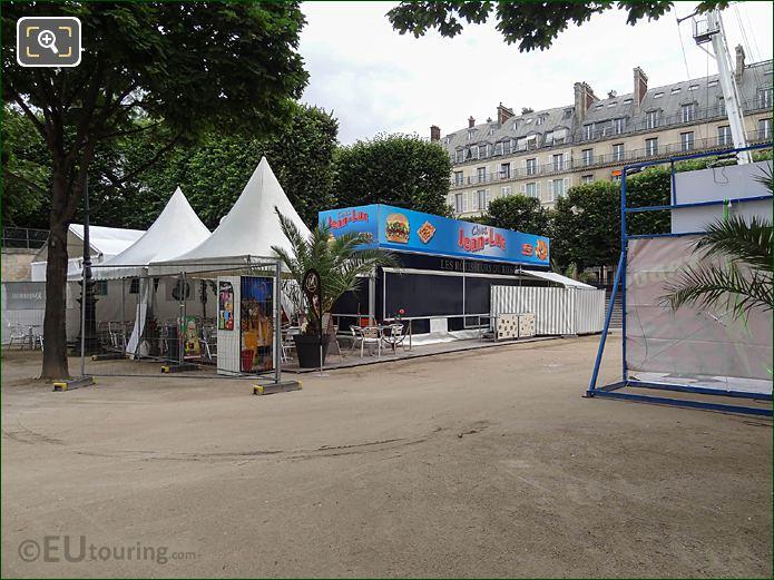 Chez Jean-Luc Rotisserie Summer Fete Des Tuileries