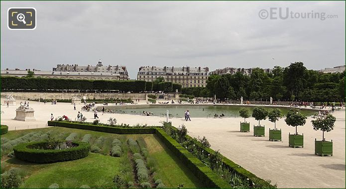 Western Water Feature Octagonal Basin Jardin Des Tuileries