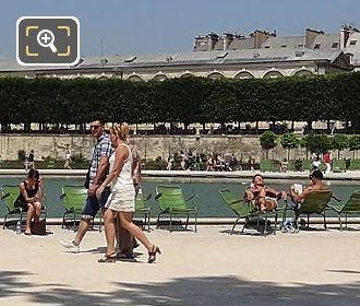 Jardin Des Tuileries West Octagonal Basin