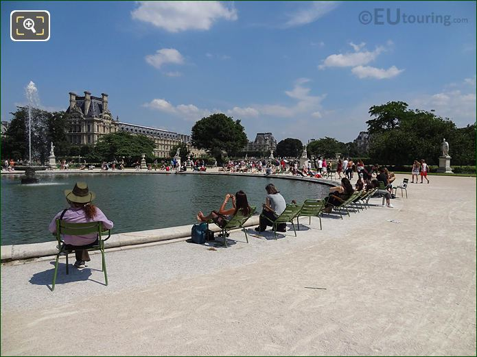 South Of Grand Bassin Rond In Jardin Des Tuileries