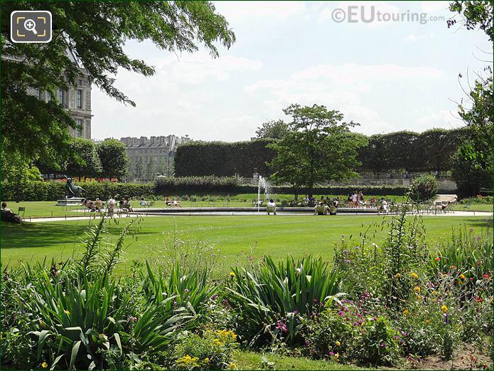 SE Vivier Sud Demi-lune Reserve Sud Jardin Des Tuileries
