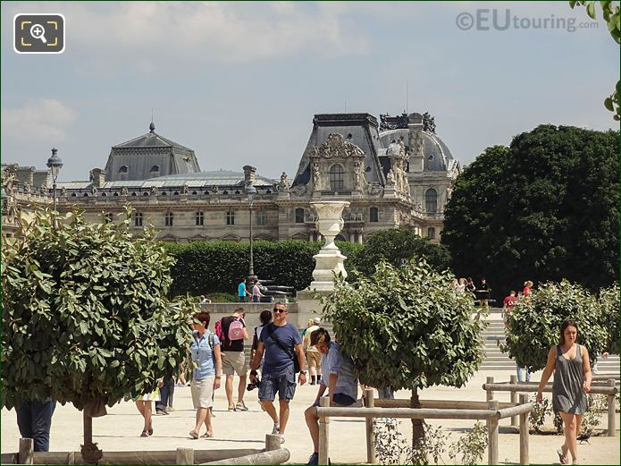 E Walkway And Stone Steps Grille Lemonnier Jardin Tuileries