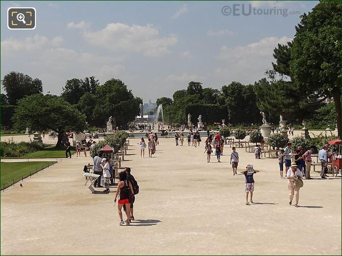 Central Ally Grille Lemonnier Area Jardin Tuileries Westerly