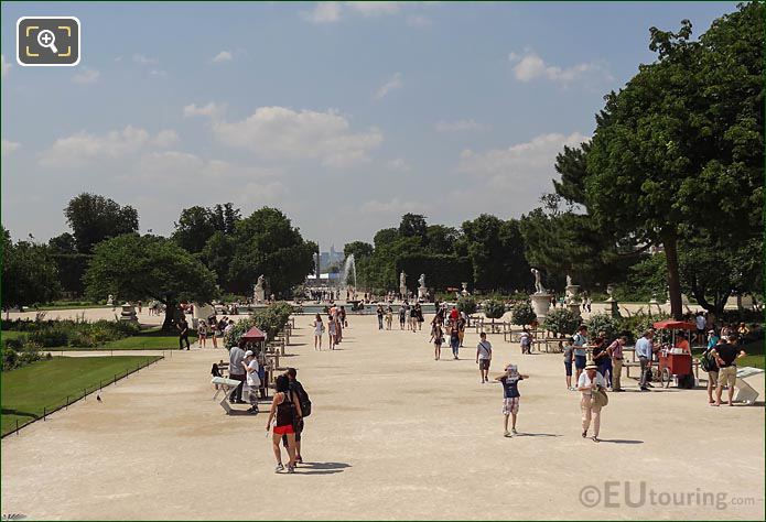 Allee Centrale Tuileries Gardens