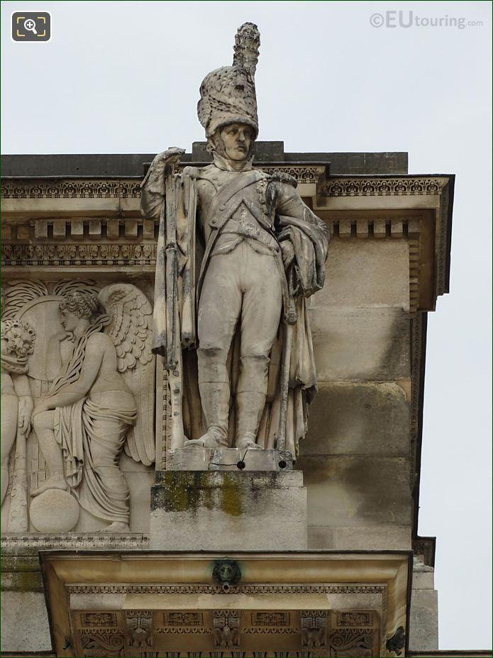 RHS Sculpted Soldier Arc De Triomphe Du Carrousel West Facade