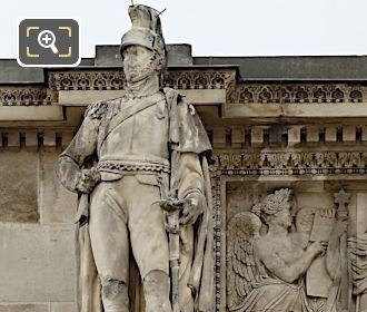 LHS Soldier Arc De Triomphe Du Carrousel West Facade