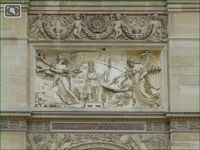 Peace Of Presbourg Sculpture Arc De Triomphe Du Carrousel
