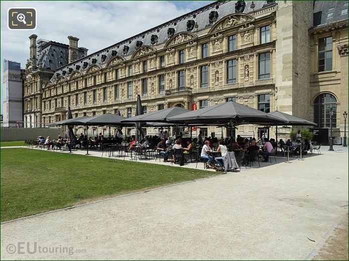Le Saut Du Loup Terrace Jardin Des Tuileries Looking NW