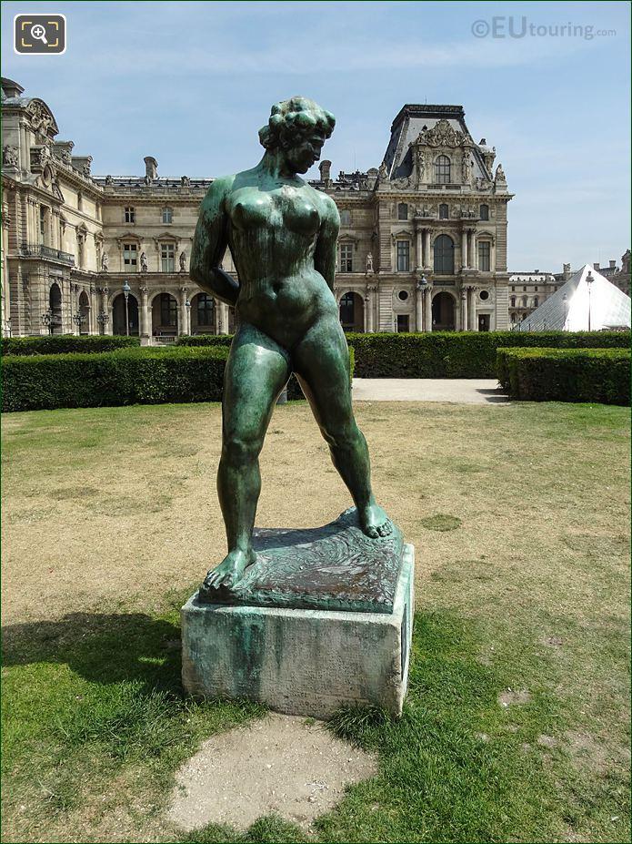 L'Action Enchainee Jardin des Tuileries Looking SE