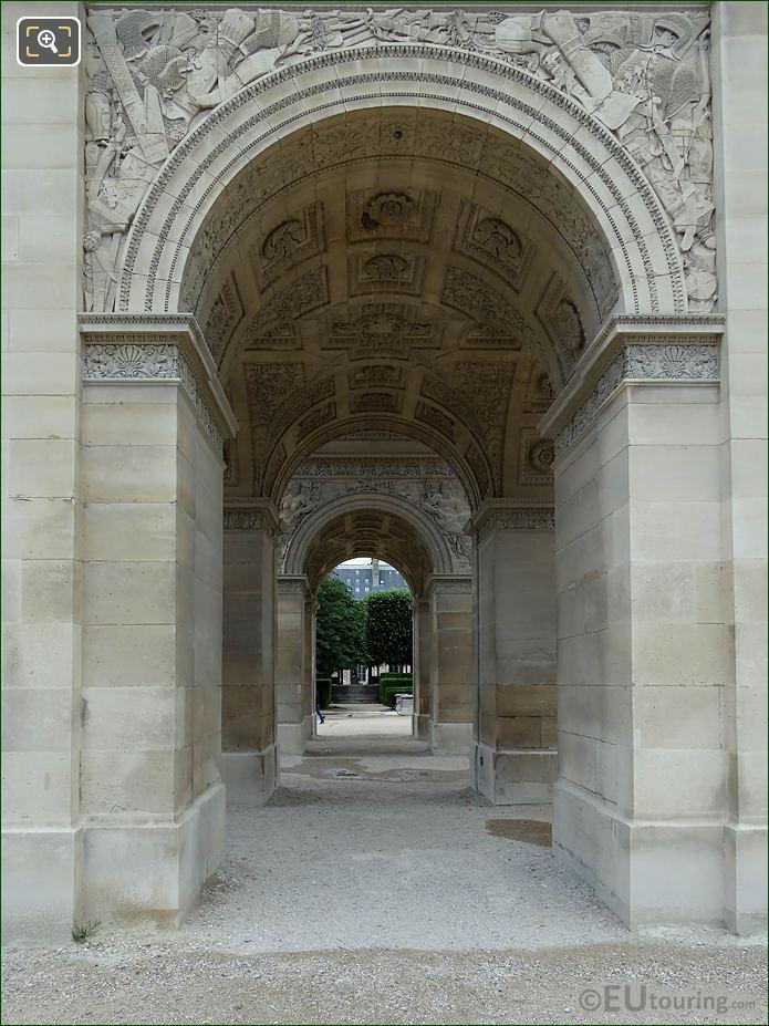 South Side Archway Arc De Triomphe Du Carrousel