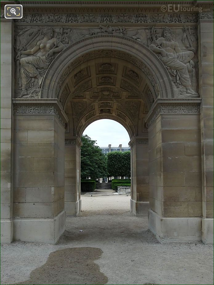 North Side Archways Arc De Triomphe Du Carrousel