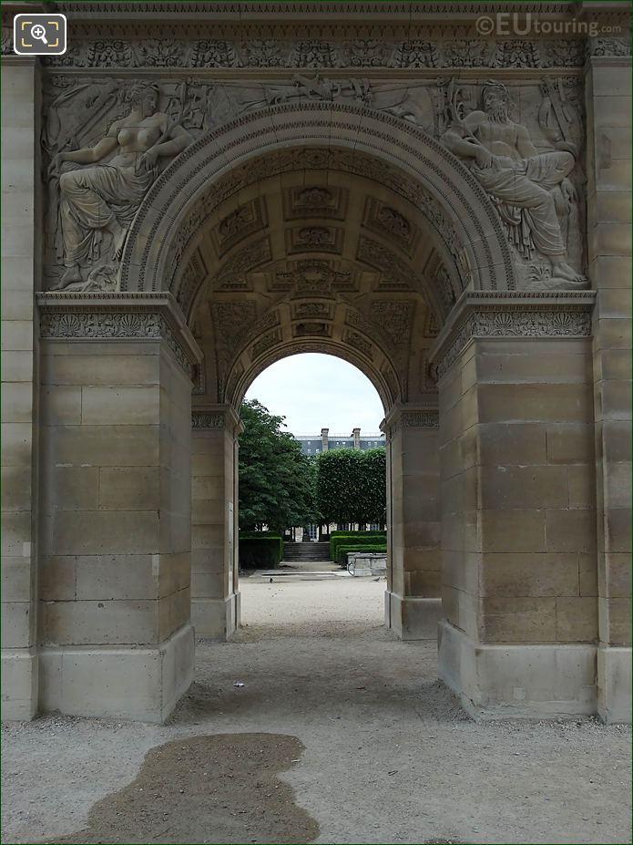 North Side Archways Arc De Triomphe Du Carrousel