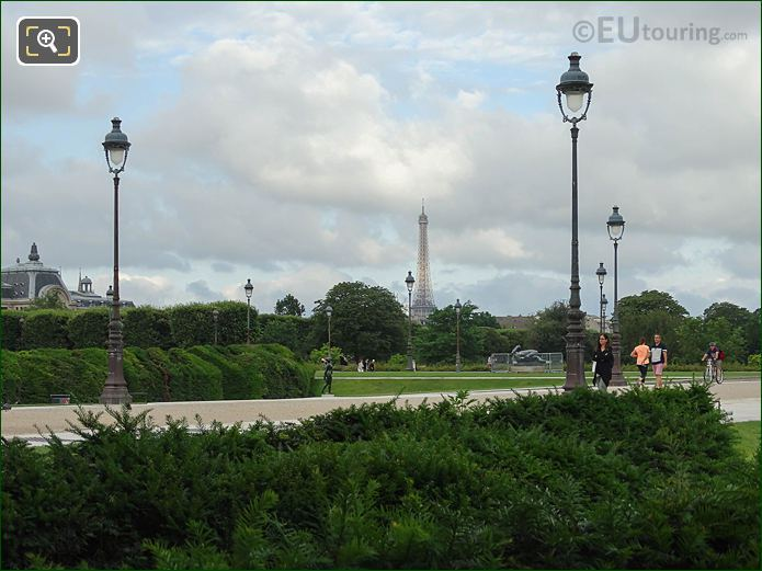 Carrousel Garden In Jardin Des Tuileries Looking SW