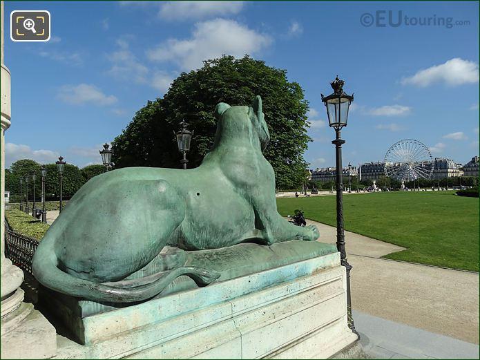 Aile De Flore Jardin Des Tuileries Looking NW
