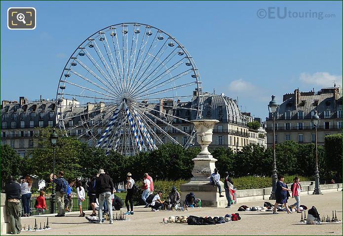 Fete Des Tuileries Ferris Wheel La Grande Roue
