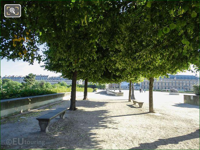 Terrasse Des Tuileries In Jardin Des Tuileries Looking North East