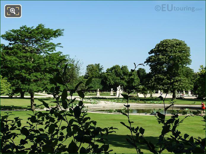 Grand Carre Garden Area In Jardin Des Tuileries Looking North West