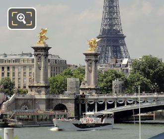 Vedettes De Paris Boat And Pont Alexandre III