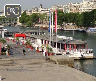 Vedettes De Paris Floating Docks