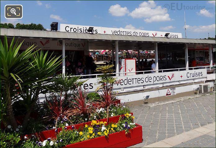 Quayside Next To Vedettes De Paris