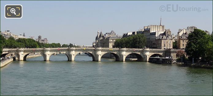 Vedettes Du Pont Neuf Next To The Bridge