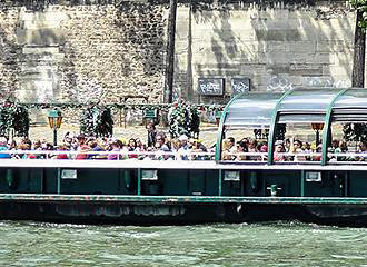 Boat Tours On The River Seine