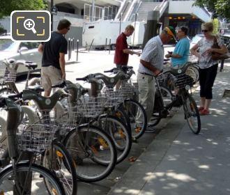 Velib Automated Bike Station