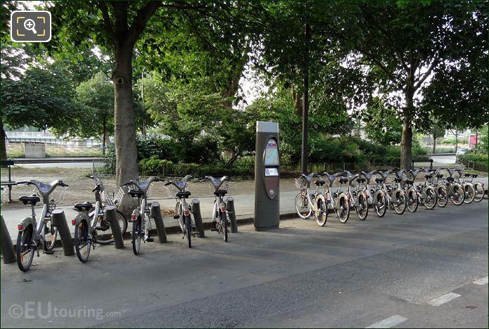 Velib Bike Station