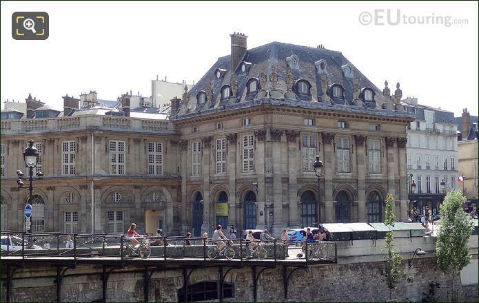 Velib Bikes At Pont des Arts