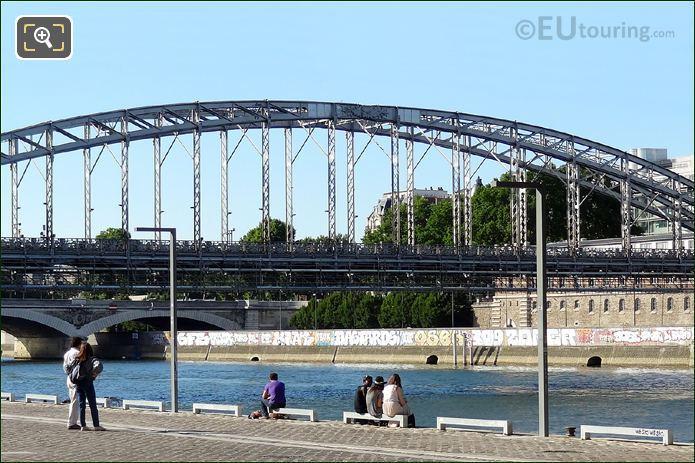 Viaduc d Austerlitz Central Arch