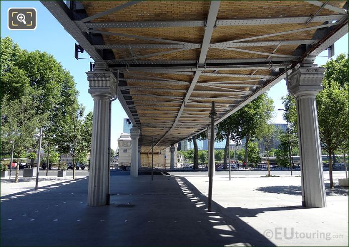 Viaduc d Austerlitz Underneath Side