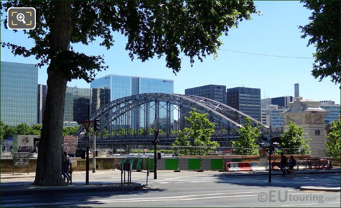 Viaduc d Austerlitz With High Rise Buildings