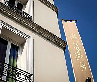 Villa Royale Montsouris facade