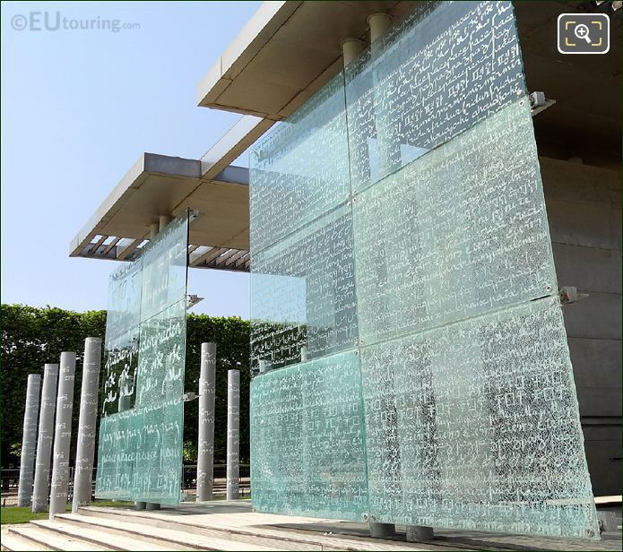 The Wall For Peace Glass Panels