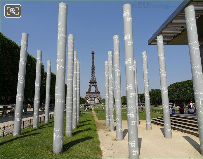 Photo Of Wall For Peace In Paris
