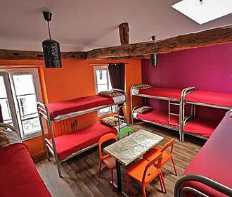 Woodstock Hostel Bunk Beds